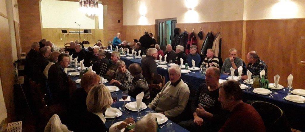 Prednovoletno srečanje vseh članov v Prapretnem