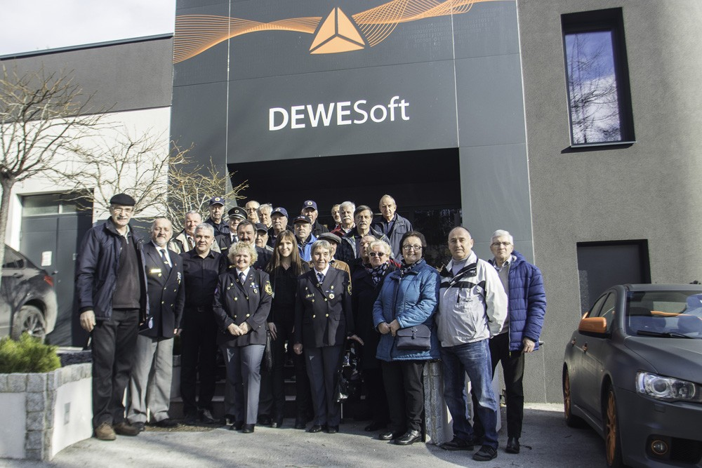 Ogled družb Dewesoft in Katapult v Trbovljah