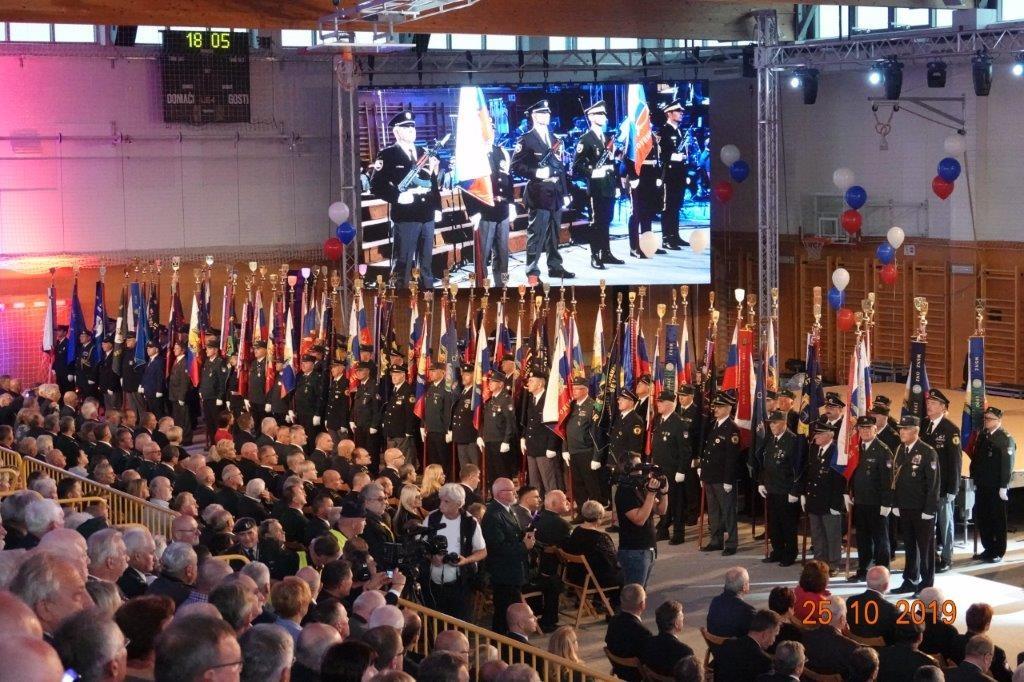 Udeležba na proslavi ob Dnevu suverenosti na Vrhniki