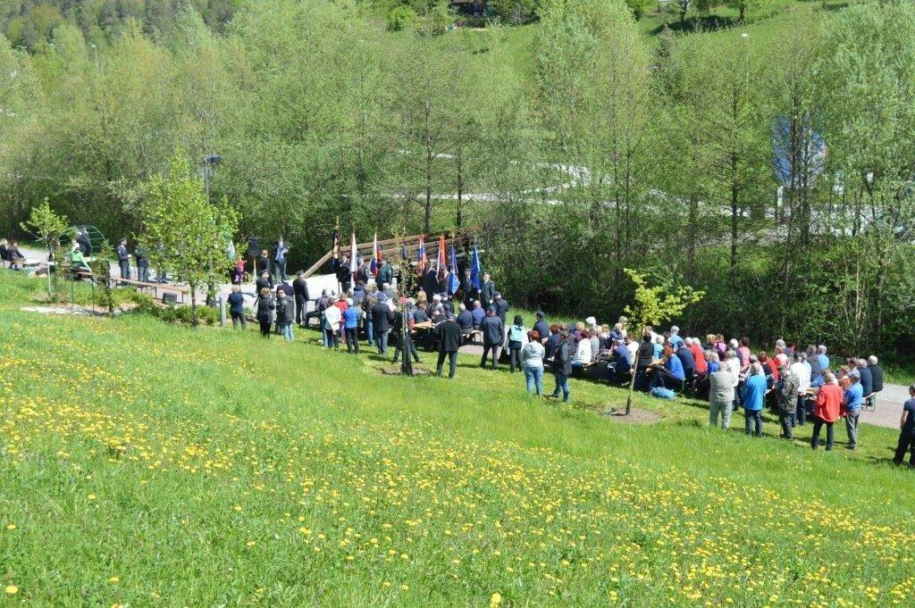Zbor veteranov in domoljubov ob Dnevu upora proti okupatorju v Europarku Zagorje