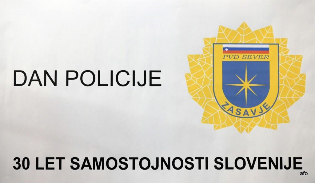 Proslava za Dan policije v Trbovljah