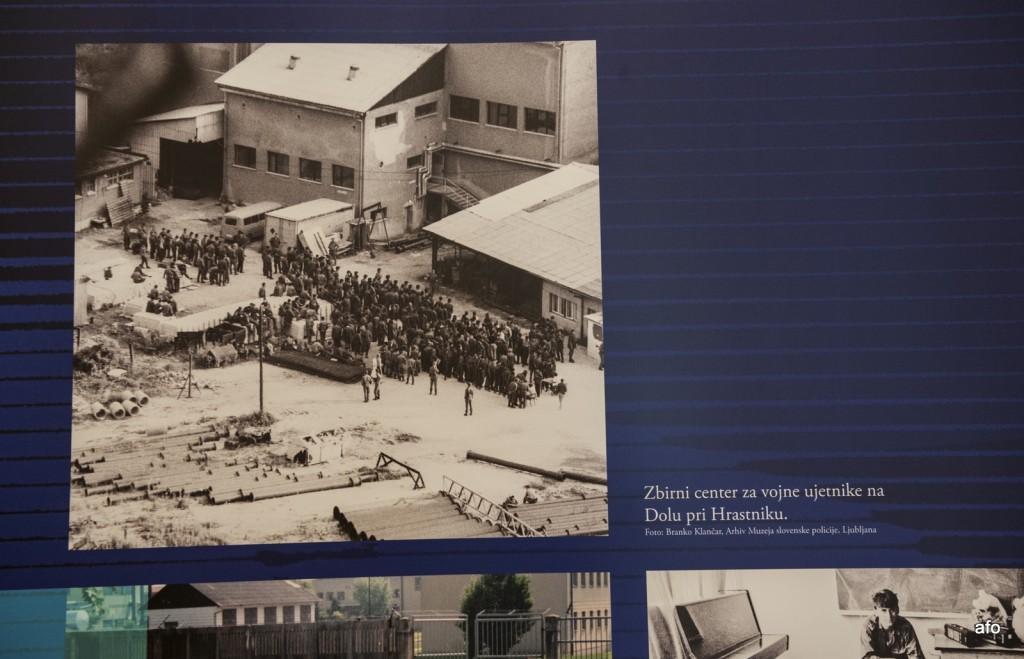 Razstava Vojna za samostojno Slovenijo 1991 na Dolu pri Hrastniku