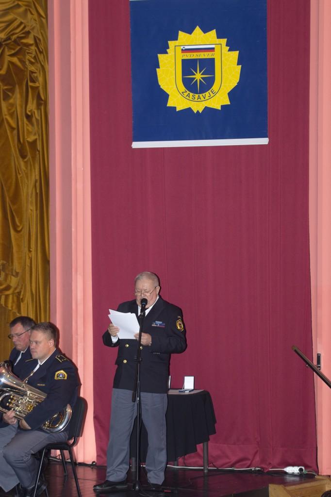 slavnostni govornik dr. Tomaž Čas, predsednik ZPVD Sever