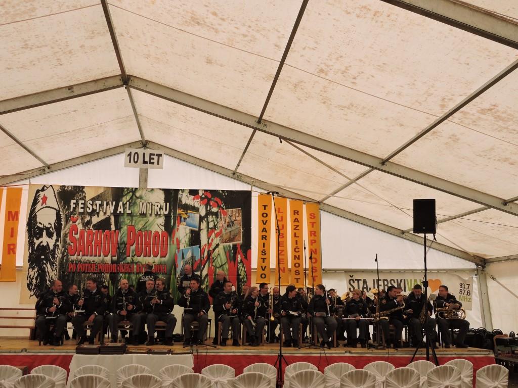 nastop Policijskega orkestra