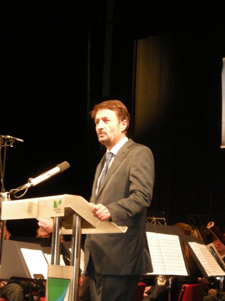 prisotne je pozdravil in nagovoril tudi županja občine Zagorje, Matjaž Švagan