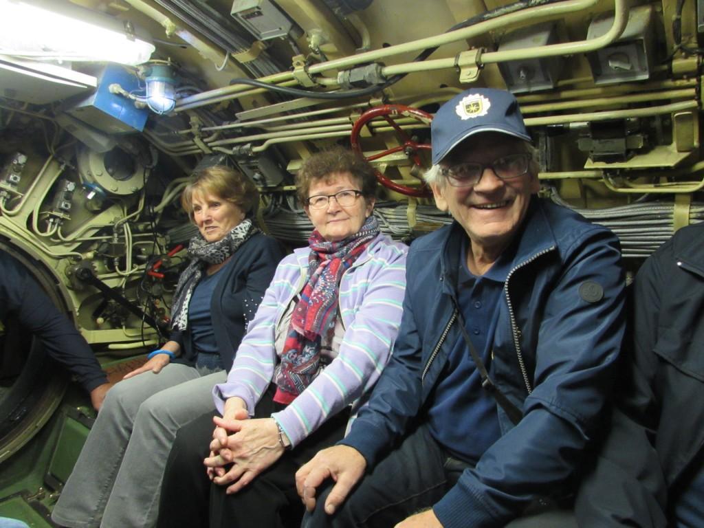 v podmornici v Parku vojaške zgodovine Pivka