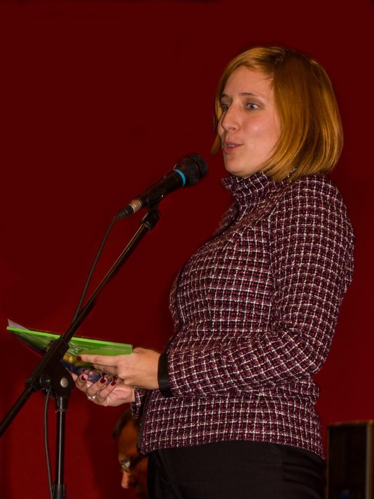 prisotne je pozdravila in nagovorila tudi županja občine Trbovlje, Jasna Gabrič