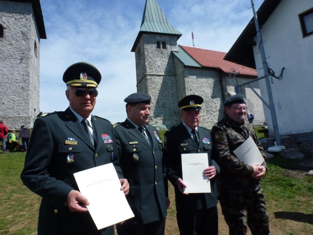 novi podpisniki Listine o sodelovanju veteranskih in domoljubnih organizacij Zasavja