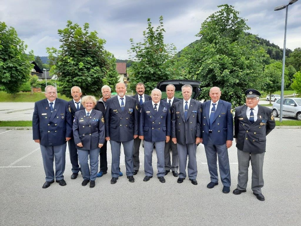 Sodelovanje na skupščini Zveze policijskih veteranskih društev Sever
