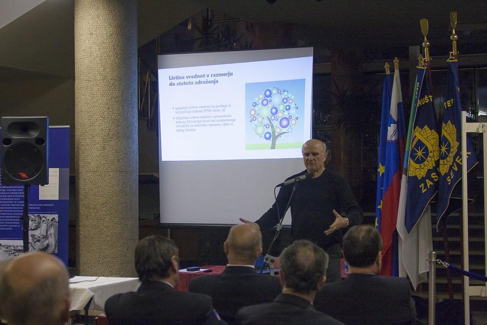 Okrogla miza o vrednotah Zveze policijskih društev Sever