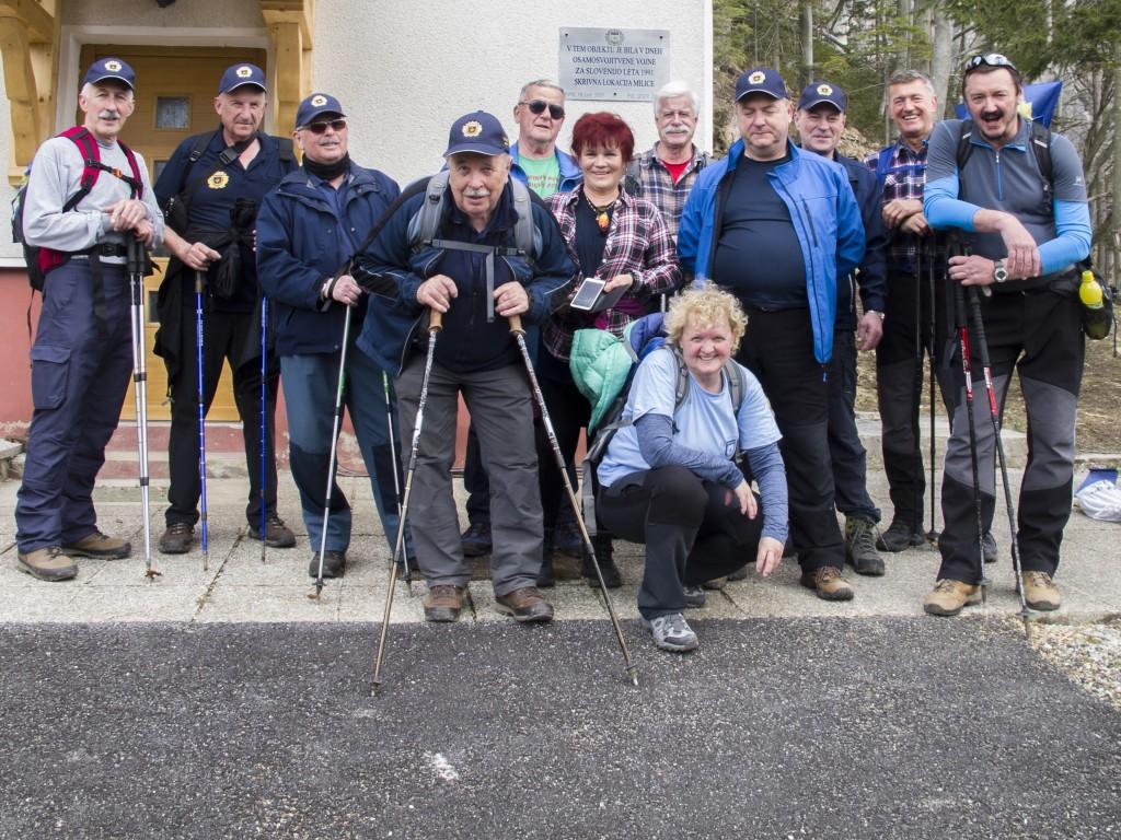 Pohod na Prvine in Čemšeniško planino, 7.4.2018