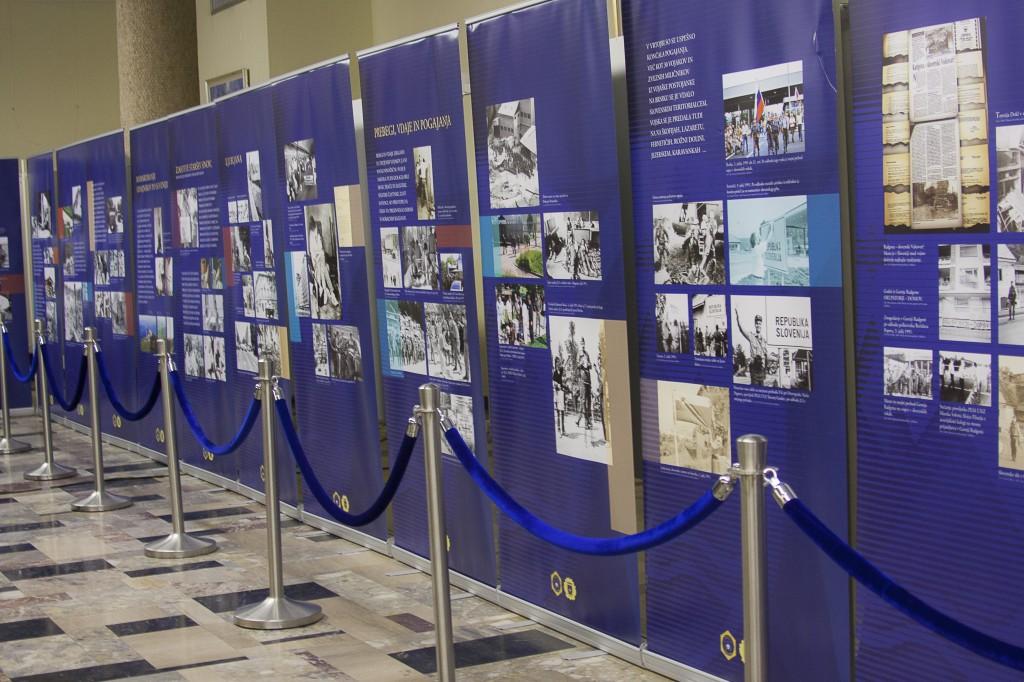Razstava Vojna za samostojno Slovenijo 1991  v Hrastniku