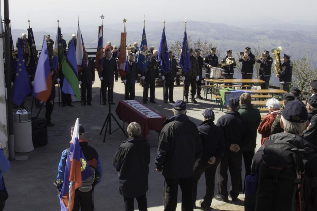 Pohod in zbor veteranov na Kalu dne 21.4.2018