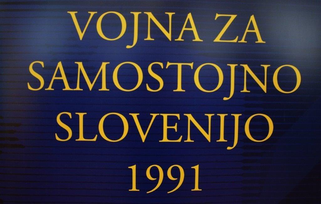 Razstava Vojna za samostojno Slovenijo 1991  v OŠ Trbovlje